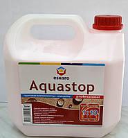 Укрепляющий грунт-влагоизолятор Aquastop  Prossional Eskaro( 3 л), фото 1