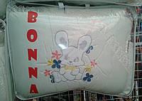 """Фирменный комплект постельного белья с балдахином. Вышивка """"Зайка"""""""