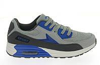 Спортивная женская обувь, кроссовки серого цвета