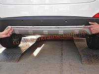 Накладка на бампер задняя Hyundai IX35 2010-13