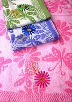 Велюровые метровые полотенца 0553