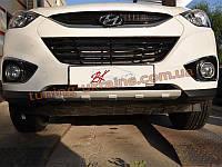 Накладка на бампер передняя Hyundai IX35 2010-13