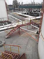 Особые условия при изготовлении и монтаже промышленных стальных резервуаров, дымовых труб, насосных станций ,