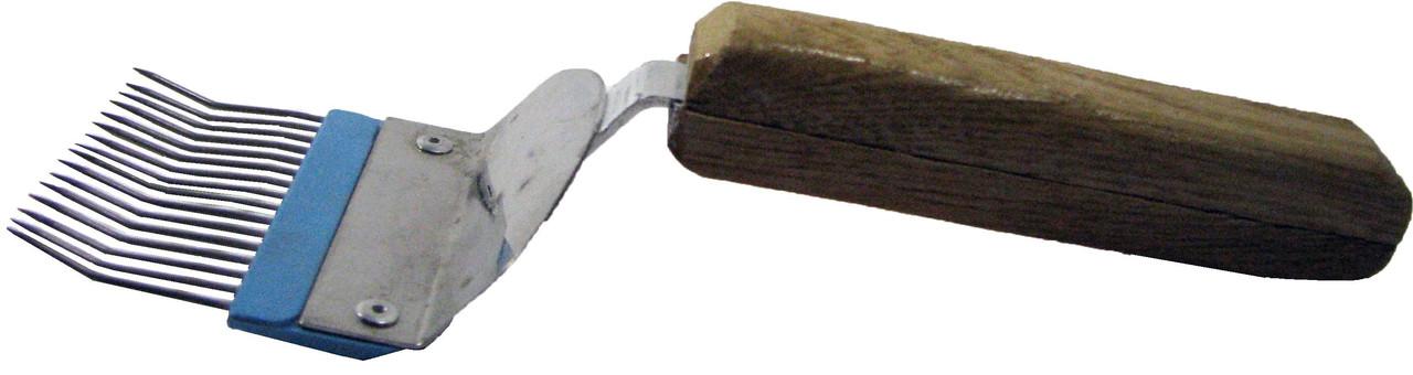Вилка нержавеющая с гнутой иголкой