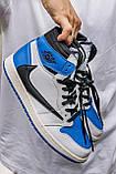 🔥 Кросівки чоловічі Air Jordan Retro 1 High x Fragment x Travis Scott, фото 6