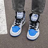🔥 Кросівки чоловічі Air Jordan Retro 1 High x Fragment x Travis Scott, фото 3