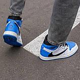 🔥 Кросівки чоловічі Air Jordan Retro 1 High x Fragment x Travis Scott, фото 5