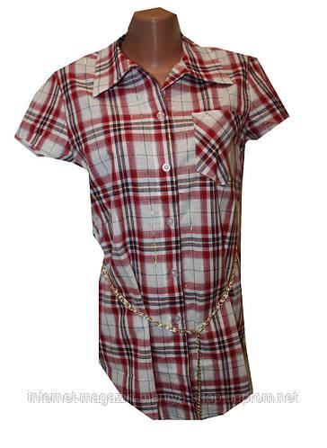 Женская рубашка полубатал