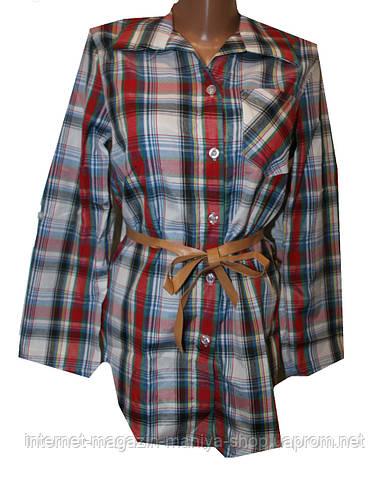 Женская рубашка от нормы до батальной