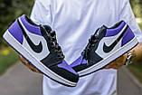 🔥 Кросівки жіночі Air Jordan retro 1 retro низькі, фото 3
