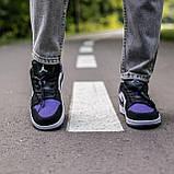 🔥 Кросівки жіночі Air Jordan retro 1 retro низькі, фото 4