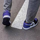 🔥 Кросівки жіночі Air Jordan retro 1 retro низькі, фото 6