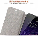 Чехол-книжка для Meizu м2 mini Mofi. Оригинальный. Бирюзовый, фото 4