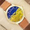 Стильные наручные часы Украинa 1053-0036