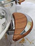 Набор кухонной посуды из нержавеющей стали 8 предметов OMS 1076-Brown, фото 4