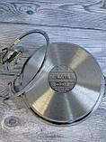 Каструля 6,2 л 24х14 см з нержавіючої сталі (Туреччина) OMS 2038S-24-6,2л, фото 5