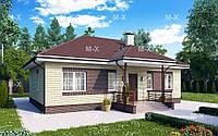 МS-011– проект одноэтажного частного дома