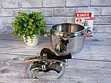 Скороварка з нержавіючої сталі 5 л (Туреччина) OMS 5040-20-5л, фото 2