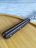Кухонний ніж 23,5 см з нержавіючої сталі (Туреччина) OMS 6103ART, фото 2