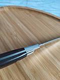 Кухонний ніж 23,5 см з нержавіючої сталі (Туреччина) OMS 6103ART, фото 4