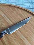 Кухонний ніж 23,5 см з нержавіючої сталі (Туреччина) OMS 6103ART, фото 5
