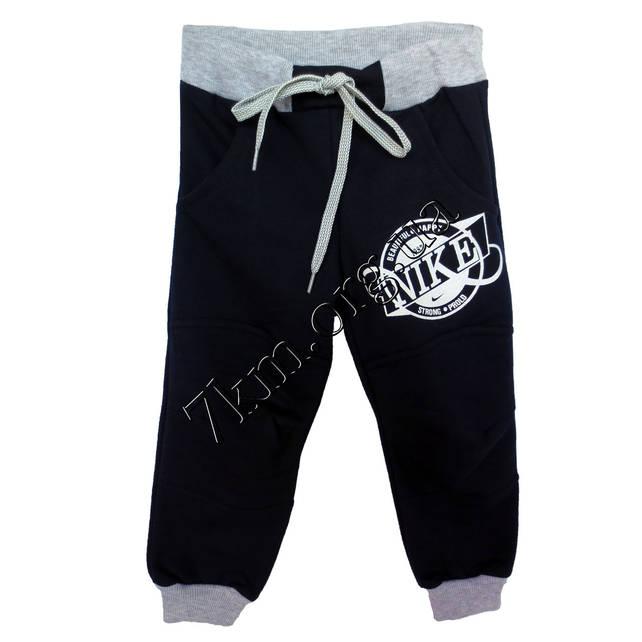 37a49a541dd9 Спортивные штаны Реплика Nike для мальчиков (2-5лет) трикотажные Т Синие