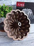 Форма для кексу з антипригарним покриттям Ø 26 см кавовий (Туреччина) OMS 3272-26-Coffee, фото 3