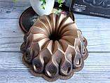 Форма для кексу з антипригарним покриттям Ø 26 см кавовий (Туреччина) OMS 3272-26-Coffee, фото 4