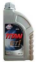 Синтетическое моторное масло TITAN (Титан) GT1 0W-20 1л.