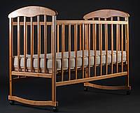 Манеж-кроватка «Наталка» (ольха светлая)