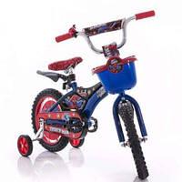 Велосипед Мустанг пилот Спайдермен 14 Mustang pilot Spiderman человек паук