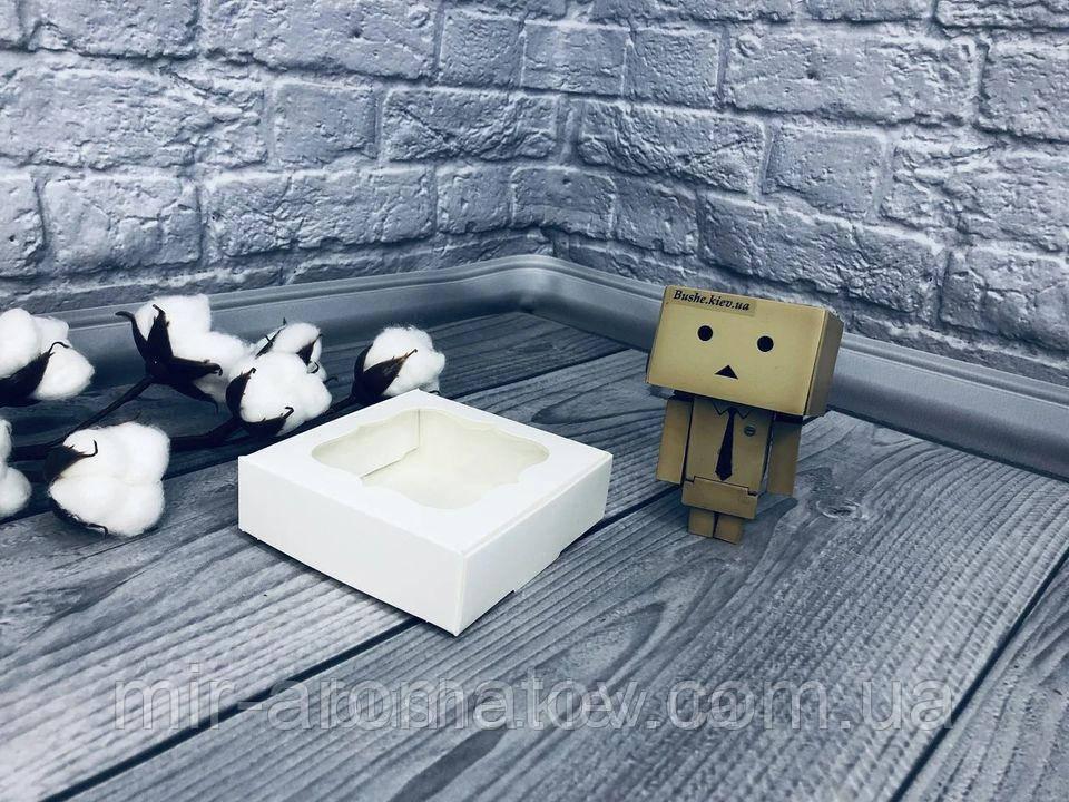 Коробка з віконцем 10*10*3 мм 10шт