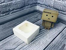 Коробка с окошком  80х80х35 мм 10шт