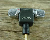 Sony ECM-DS70P электретный конденсаторный стерео микрофон для DSLR камеры, диктофона, смартфона, скайп skype г
