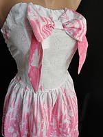 Молодежные летние платья с бантом, фото 1