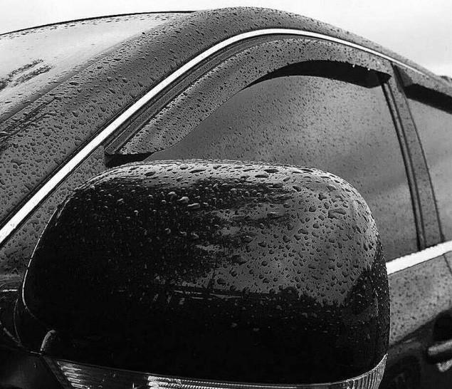 "Дефлекторы окон ""ТТ"" Nissan Almera classic 2006-2012 - Ветровики Ниссан Альмера Классик"
