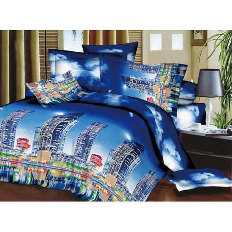Качественное постельное белье ТЕП  RestLine 154 «Скайлайн» 3D дешево от производителя., фото 2