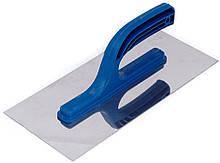 Затирка гладилка из нержавеющей стали гладкая Polax 130х270 (100-096)