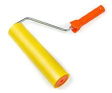Валик прижимной Polax резиновый с ручкой  8 х 250 мм (21-004)