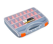 Органайзер пластиковый хозяйственный для хранения Polax 24 секции 460х360х80 мм (01-011)