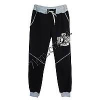 Спортивные штаны детские New York для мальчиков (8-12 лет) трикотажные Черные