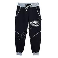 Спортивные штаны детские Реплика Nike для мальчиков (8-12 лет) трикотажные Т синие