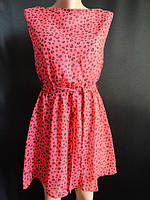Купить летнее шифоновое молодёжное платье