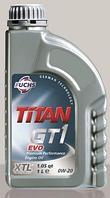 Синтетическое моторное масло TITAN (Титан) GT1 EVO 0W-20 1л.