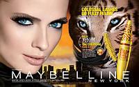 Тушь для ресниц Maybelline  Volum Express The Colossal Cat Eyes (Мэйбелин Колосал взгляд дикой кошки