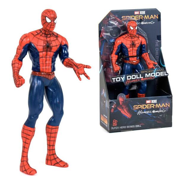 Человек Паук игрушка фигурка большая 34 см Мстители Финал Марвел Супер Герой Avengers Spider Man подвижный