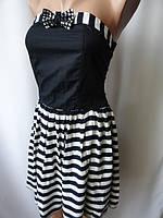 Платья недорогие с бантиком со стразами, фото 1