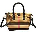 Кожаная сумка , решетчатые  ручная сумка,  сумка через плечо, фото 6