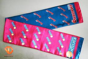 заказать шарфы с логотипом