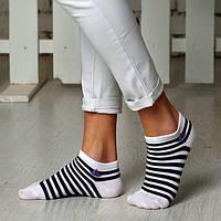 Женские укороченные носки из бамбуковой пряжи ТМ Дюна (Червоноград)